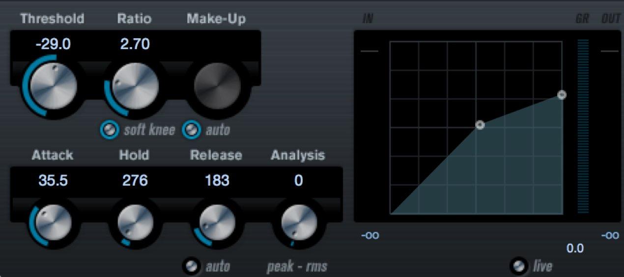 パラレルコンプレッションでサウンドコントロールの幅を広げる