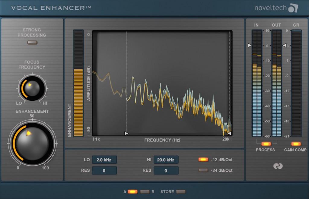 Vocal Enhancer ボーカル音域を最適化する