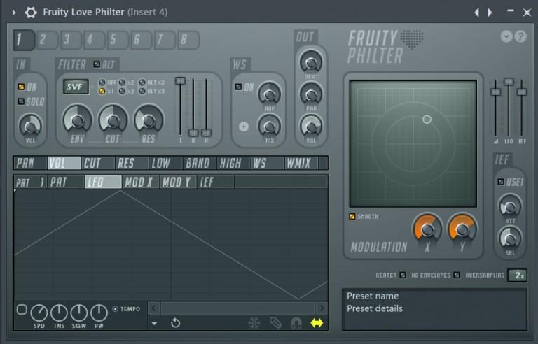 22 エフェクトを適用する FL Studio
