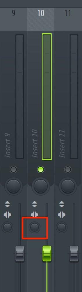 パンの広がりを設定し音像をコントロールする FL Studio