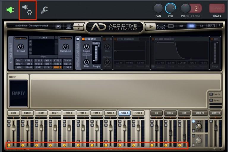追加したソフトシンセ音源をパラアウトする FL Studio