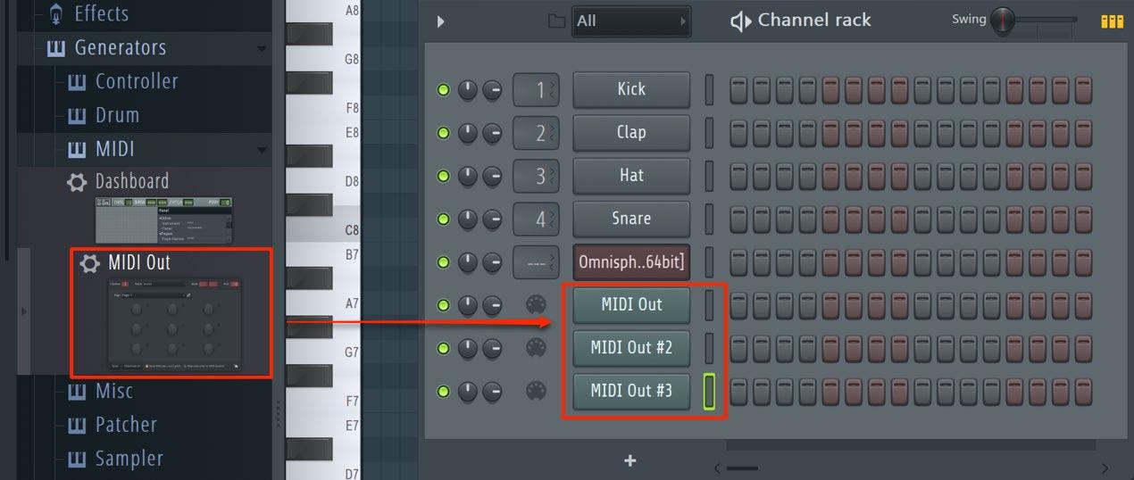 MIDI Out