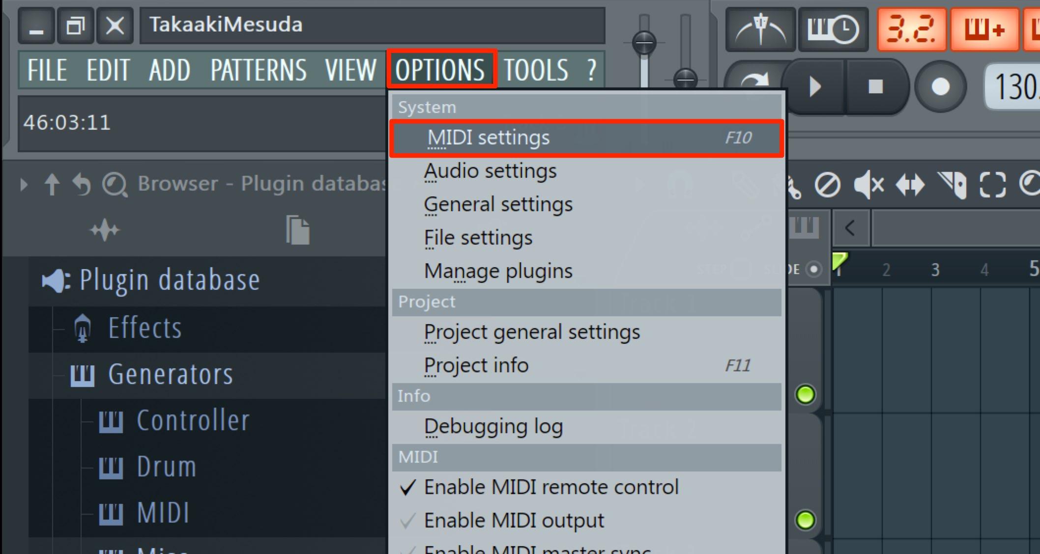 MIDI Settings-1