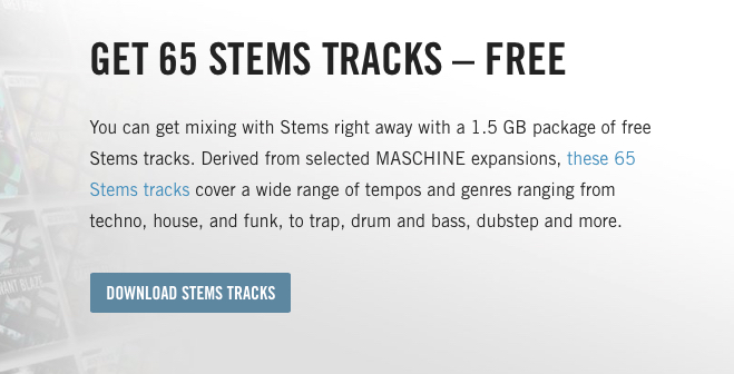 STEMS TRACKS FREE
