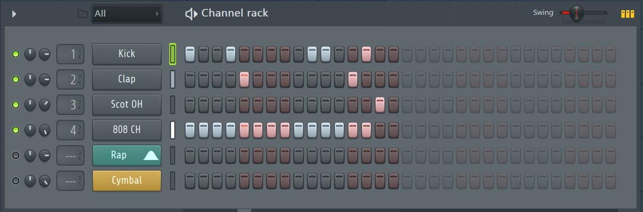 スウィングを使いノリを出す FL Studio