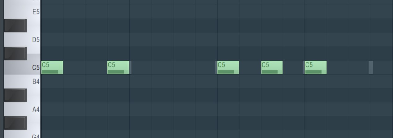 サウンドを連打させる際に音を止めるチョーク設定 FL Studio