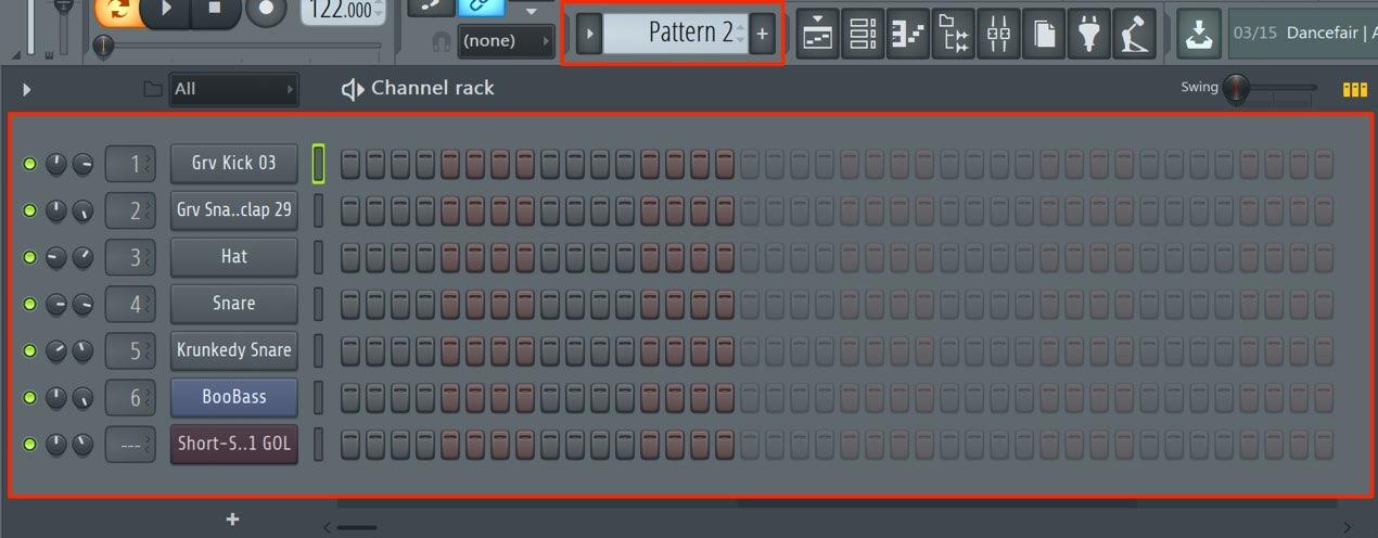 新しいパターン