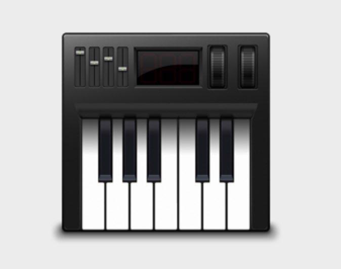 Audio MIDI 設定 の情報
