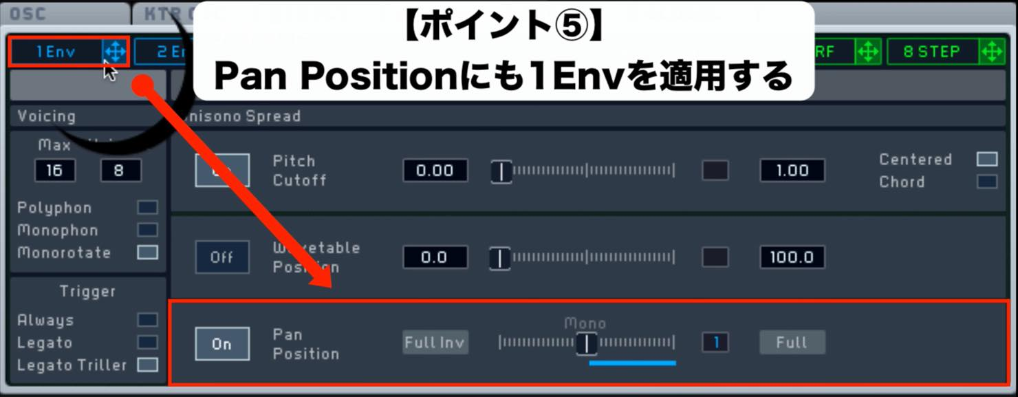 PanPosition