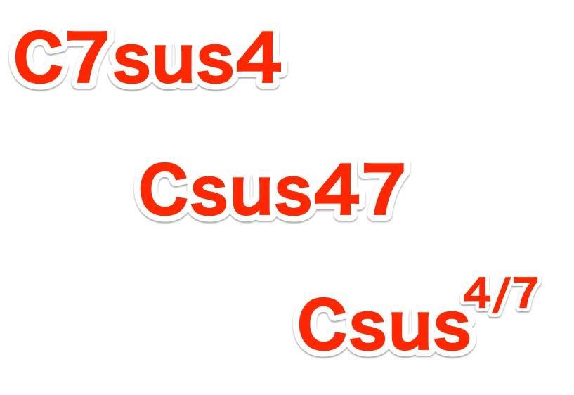 7sus4