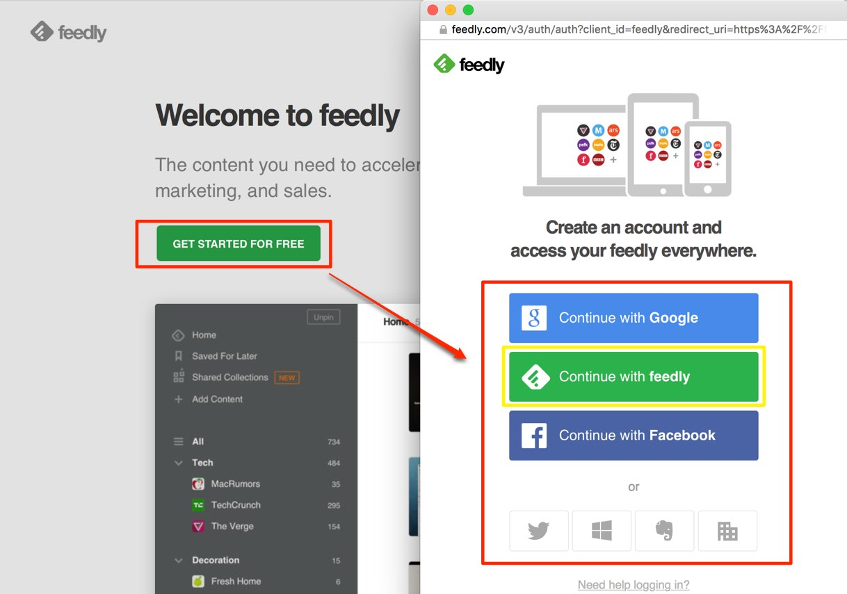 feedly-create-account