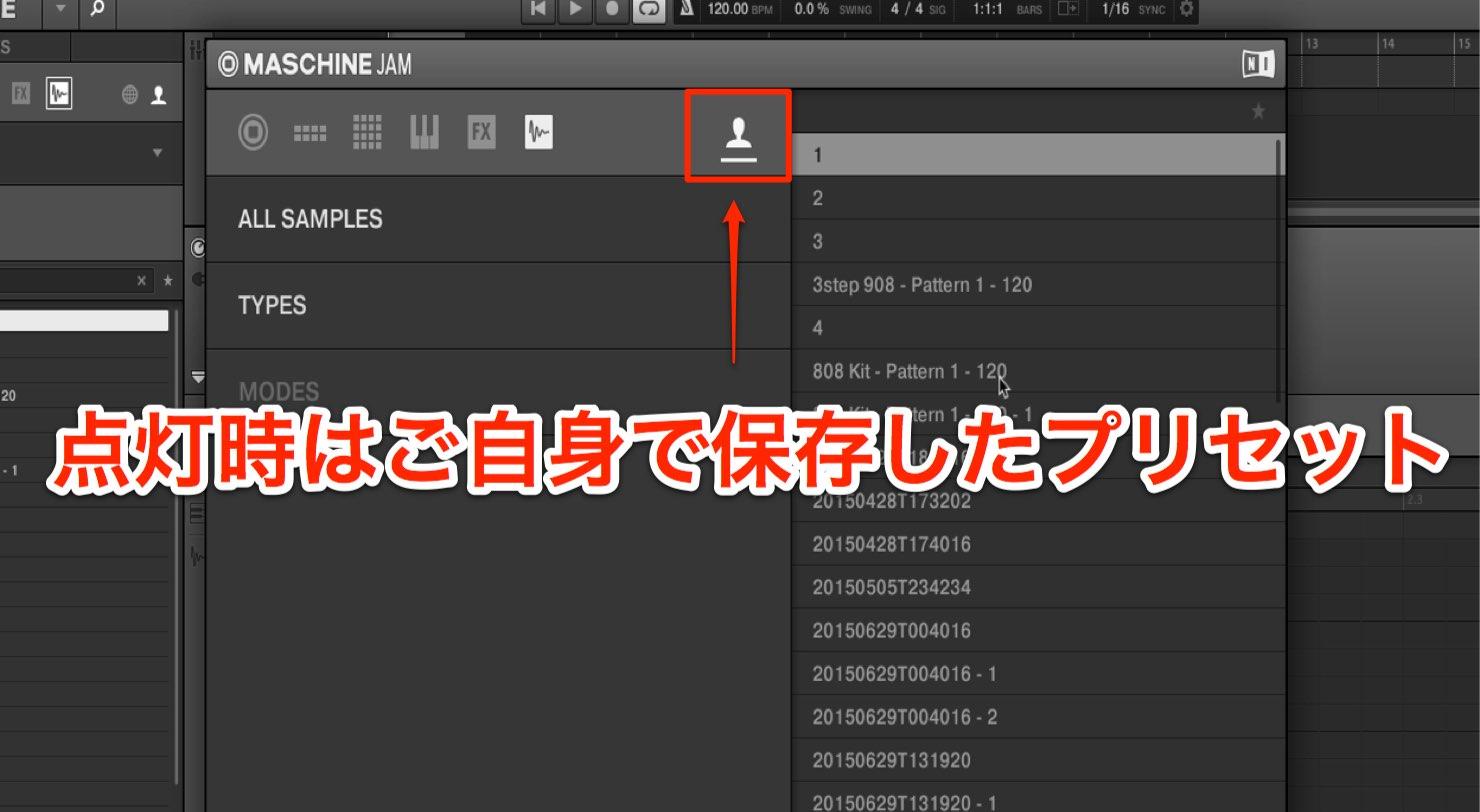 user-preset