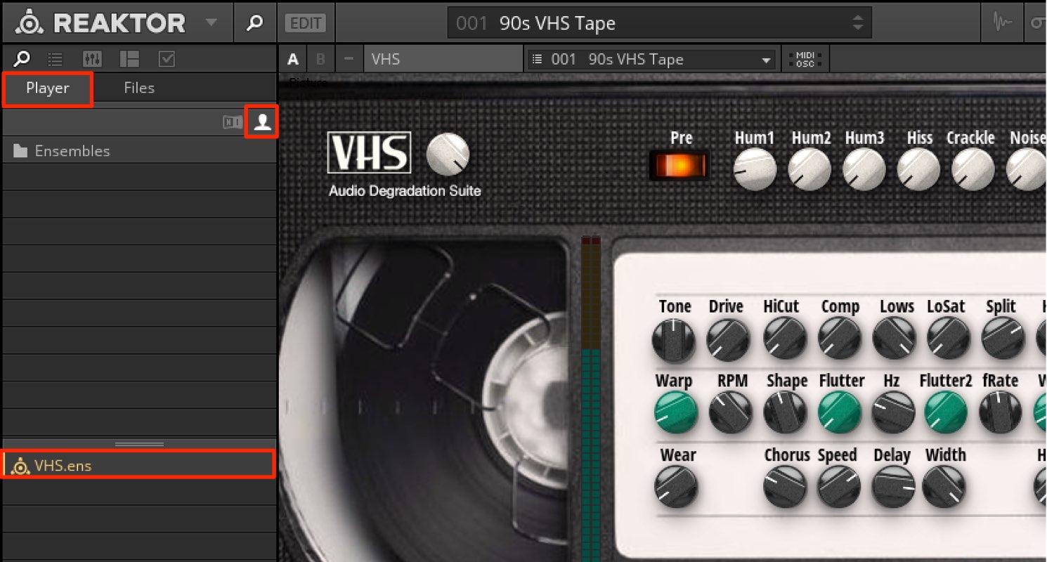 Reaktor 6  VHS