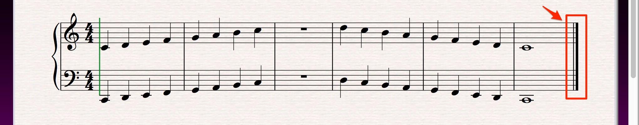 無題_と_Avid_Japan_Audio_Blog__Sibeliusで歌もの楽曲の楽譜作成にチャレンジ_3「画面のスクロール操作、旗の向きの調整、小節の追加・削除」