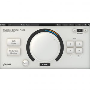 「Invisible Limiter Nano」 活用法と楽曲音圧の最適化