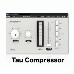 Tau Compressorの活用法 -コンプレッサーを理解する-