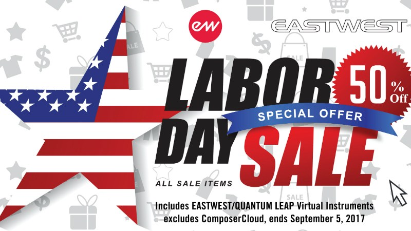 EastWest Labor Day セール 2017