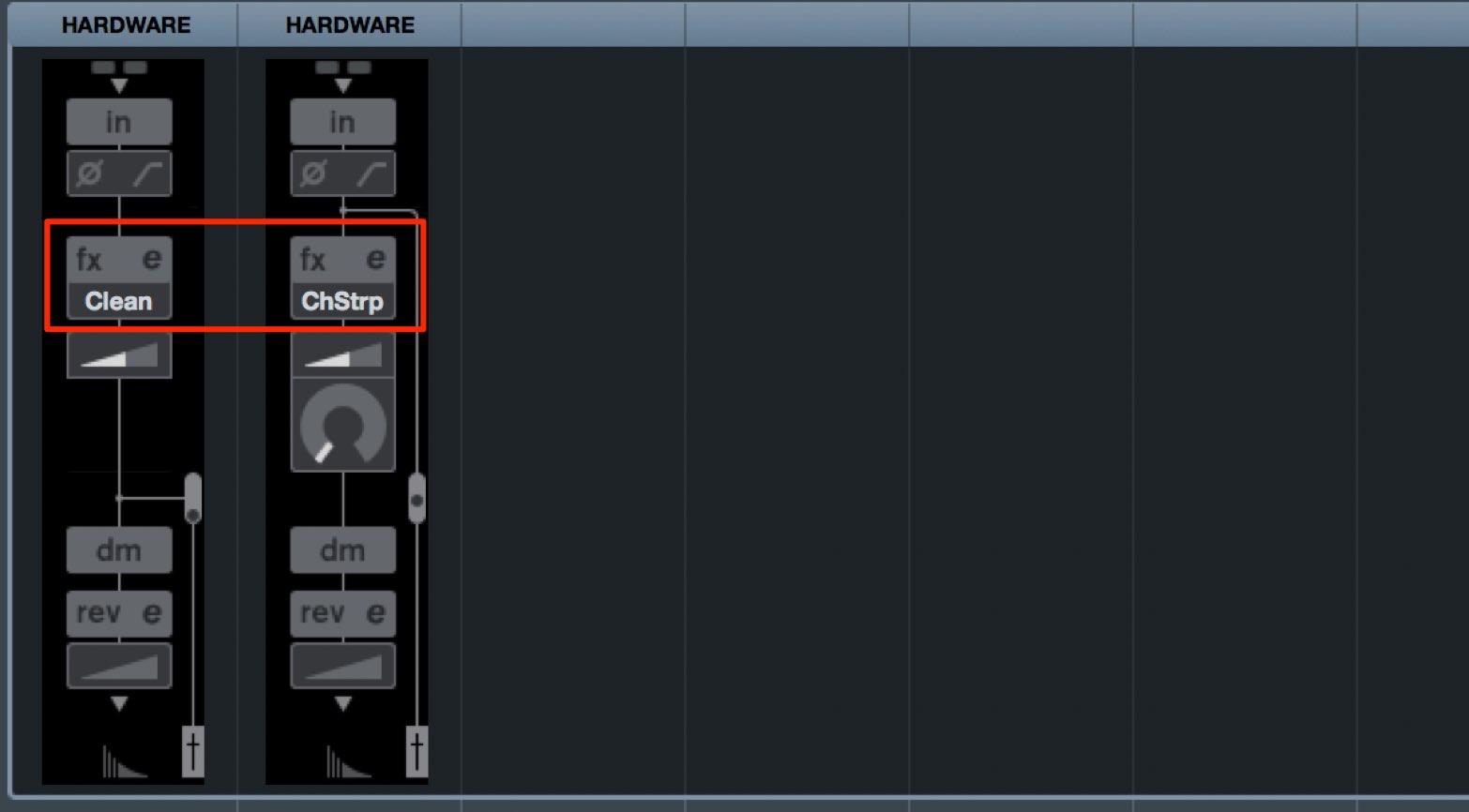 MixConsole 2 - Mix-2