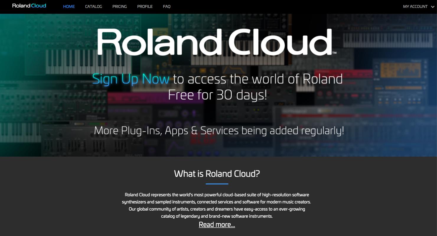 Roland Cloud 30日間無料トライアルを試してみた