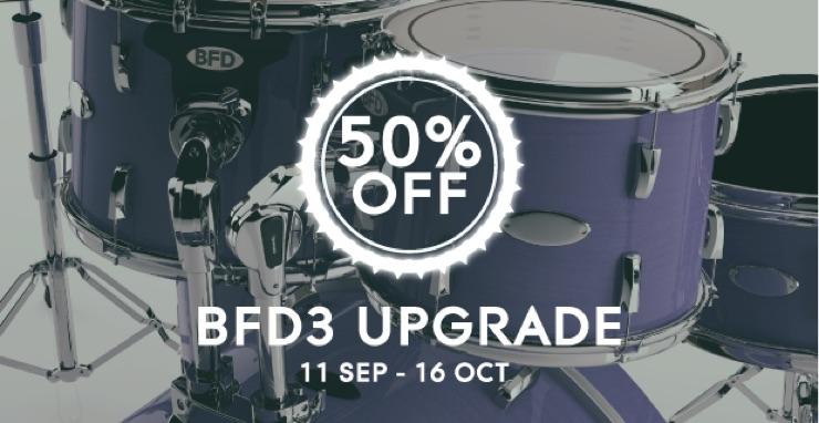 BFD3のアップグレードが50%OFF