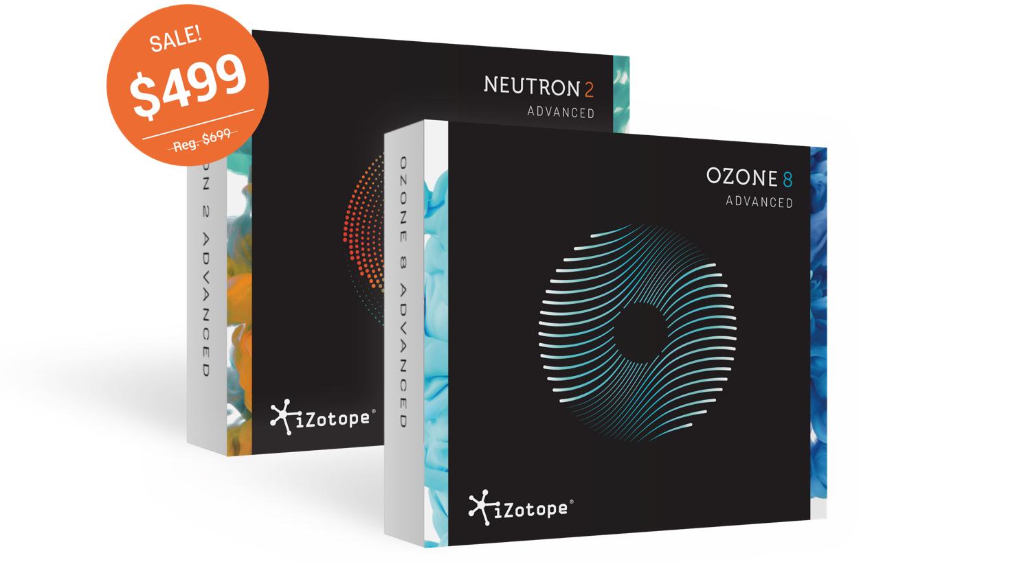 iZotope Ozone 8 & Neutron 2 イントロセールとSplice Rent-to-Ownについて