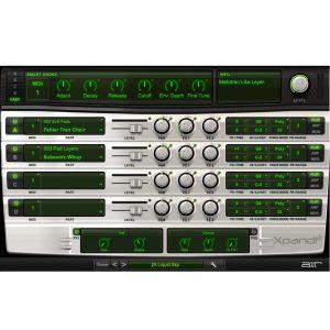 総合音源  Xpand 2 の使い方