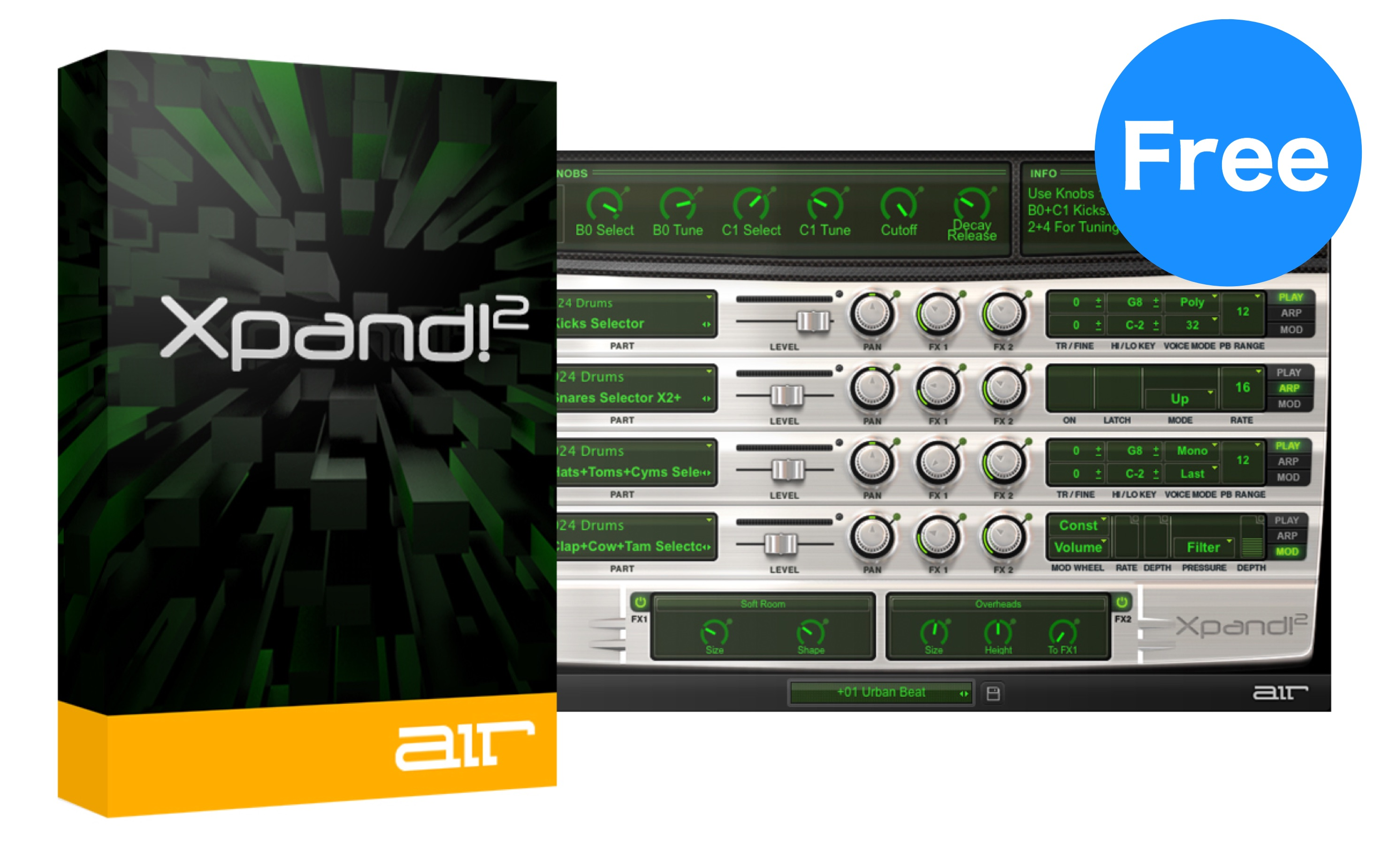 もう入手した?通常価格1万円のマルチ音源「Xpand!2」を無料でGetする方法