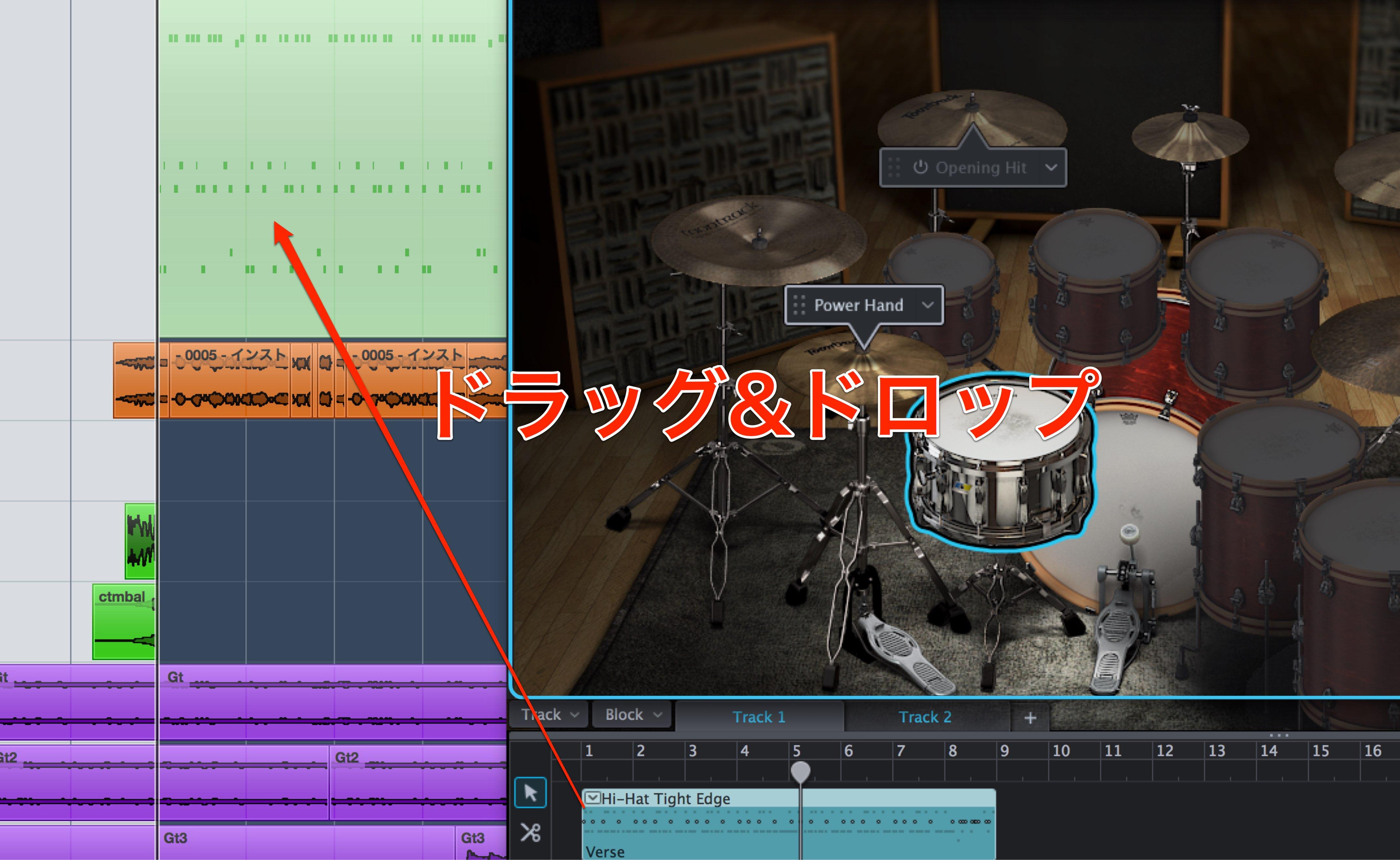 MIDIパターン-2