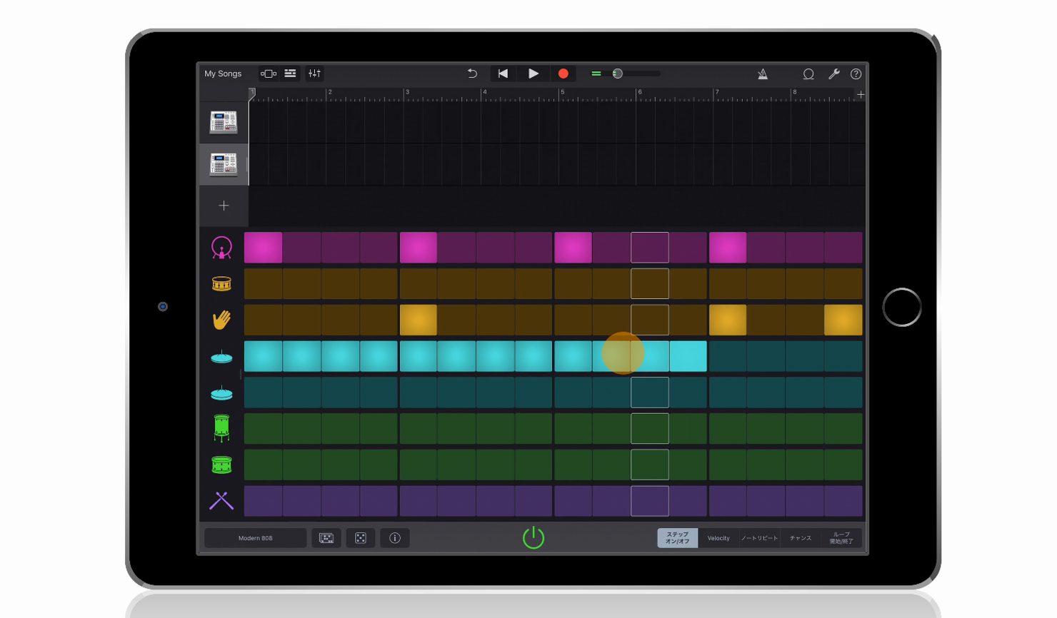 Garageband_ios_2-3_Beat-Sequence