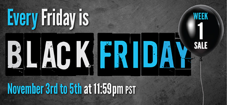 Plugin Alliance ブラックフライデーセール 2017「Every Friday is Black Friday」開催!