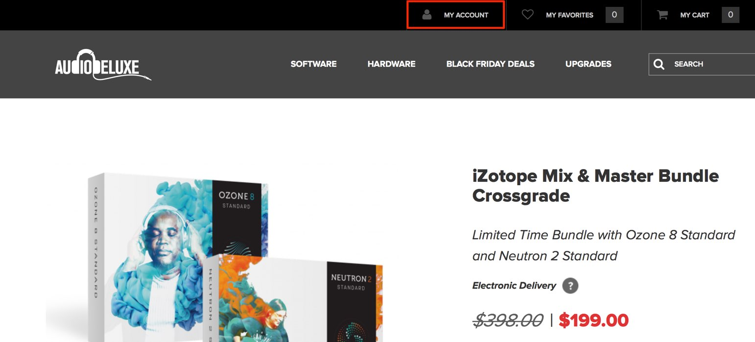 iZotope Mix & Master Bundle Crossgrade | AudioDeluxe-1