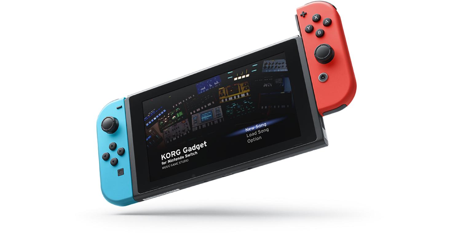【新着】「KORG Gadget for Nintendo Switch」来春発売予定!公式サイトもオープン!