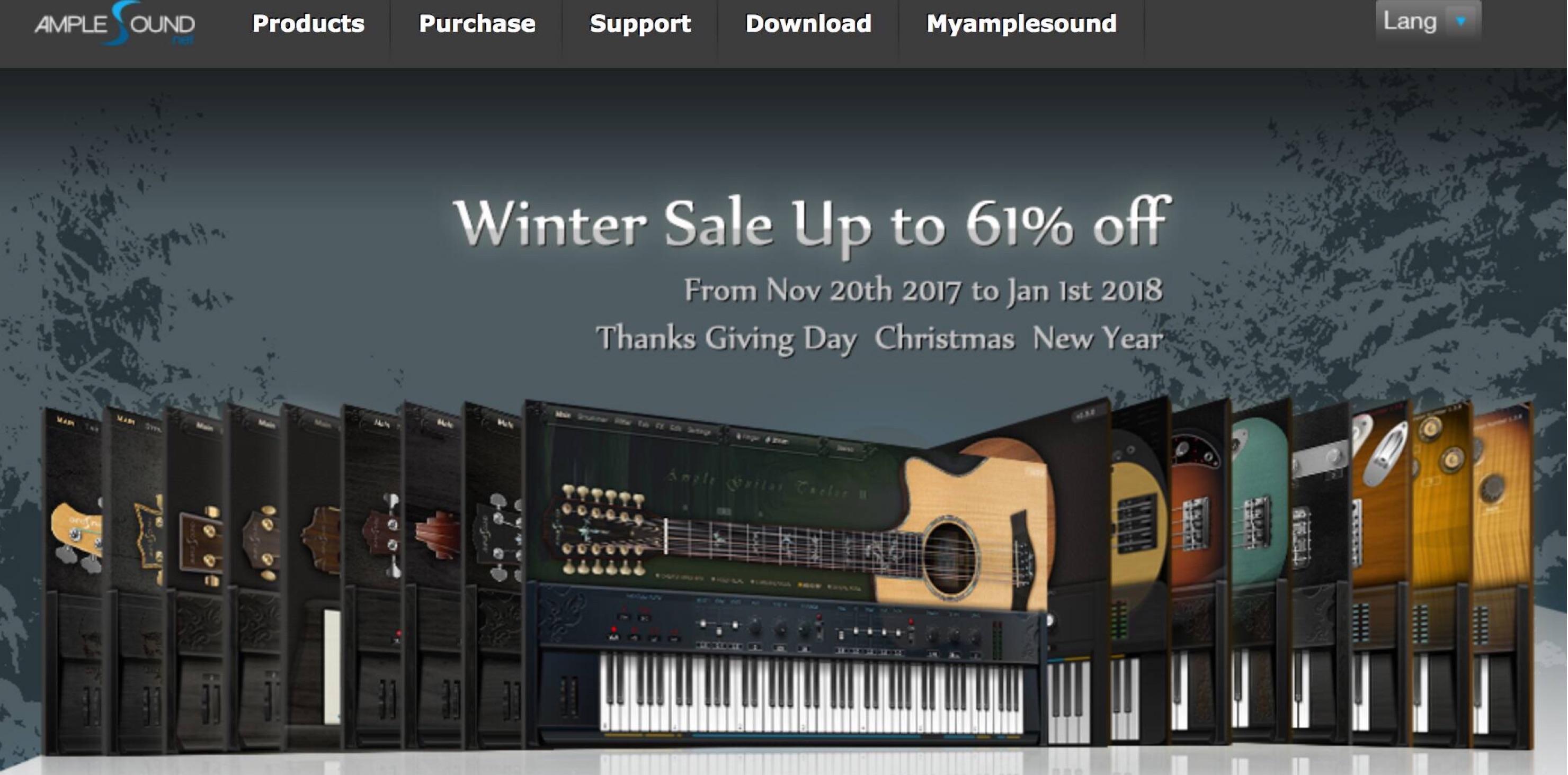 Ample Sound Winter Sale-2017-1