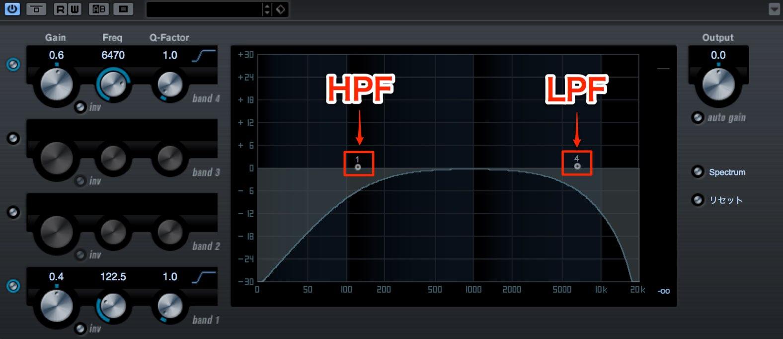 HPF LPF-1