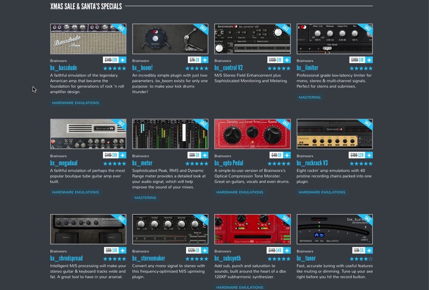 Plugin Alliance Xmas All 36 Deals Are Back-1
