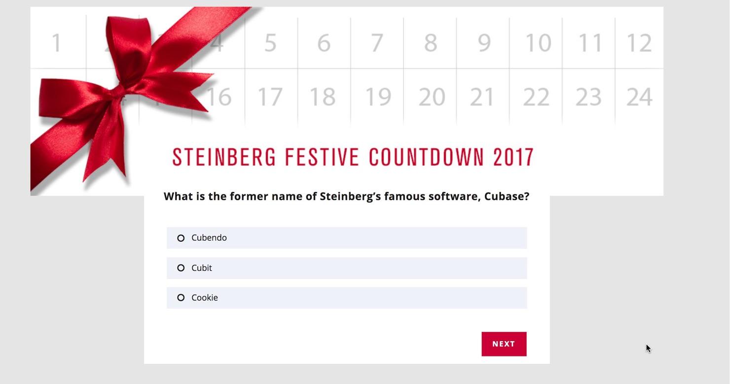 Steinberg Festive Countdown 2017-3