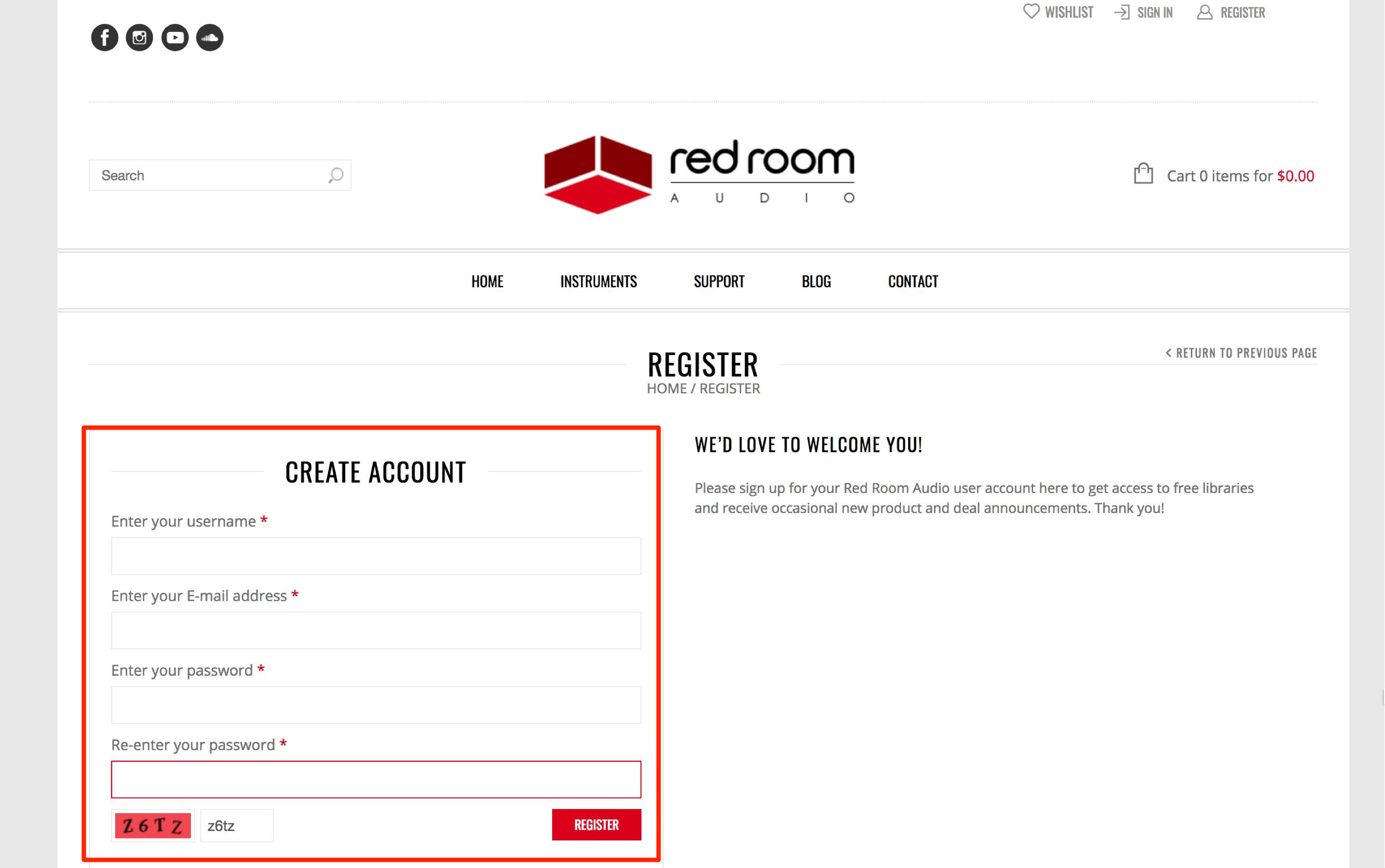 red-room-audio-accont