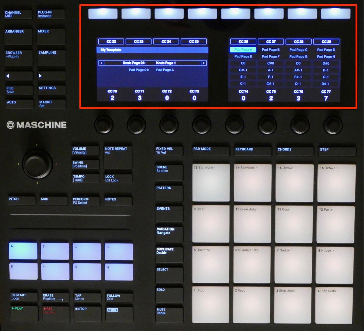 MIDIモード 2
