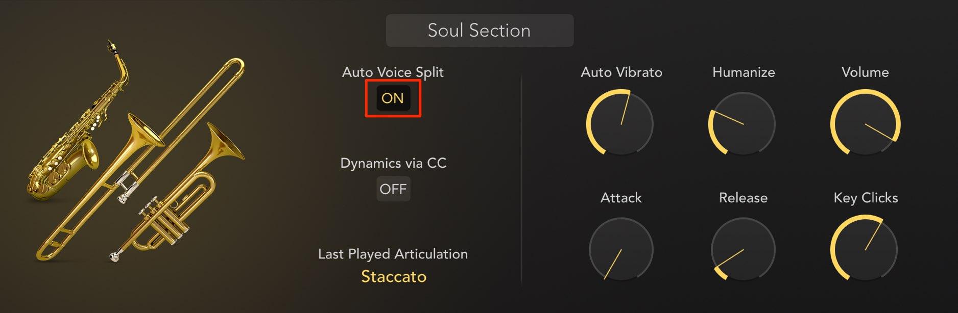 Auto Voice Split
