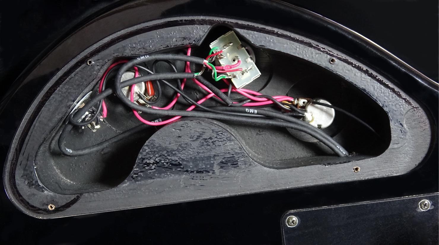 Guitar-passive-circuit
