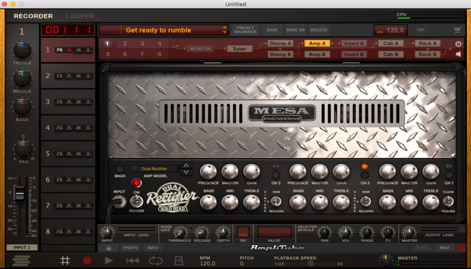 Mesa:Boogie Dual Rectifier