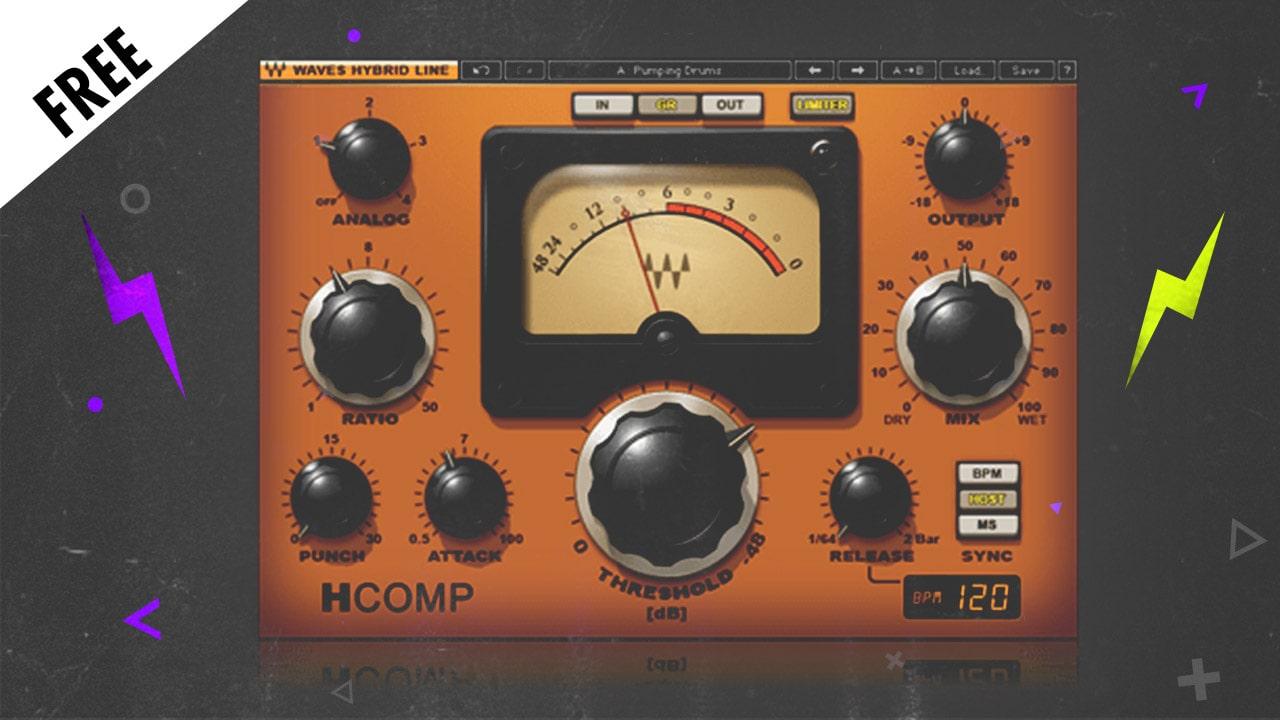 【無料】Waves H-COMPが無償配布中!入手方法と注意点