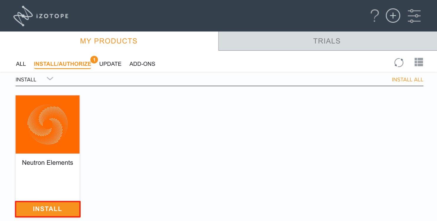iZotope Product Portal