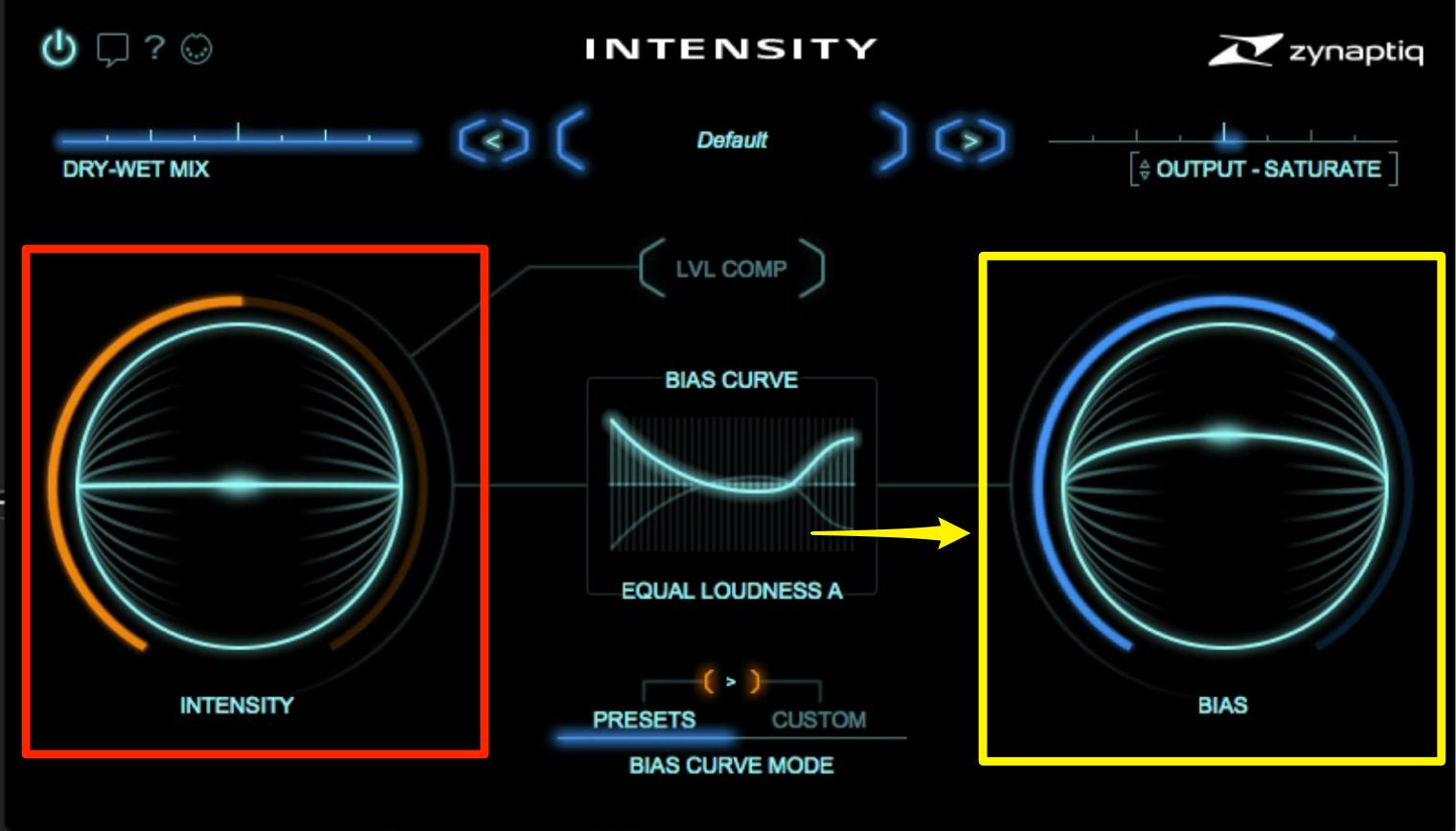 Intensity BIAS