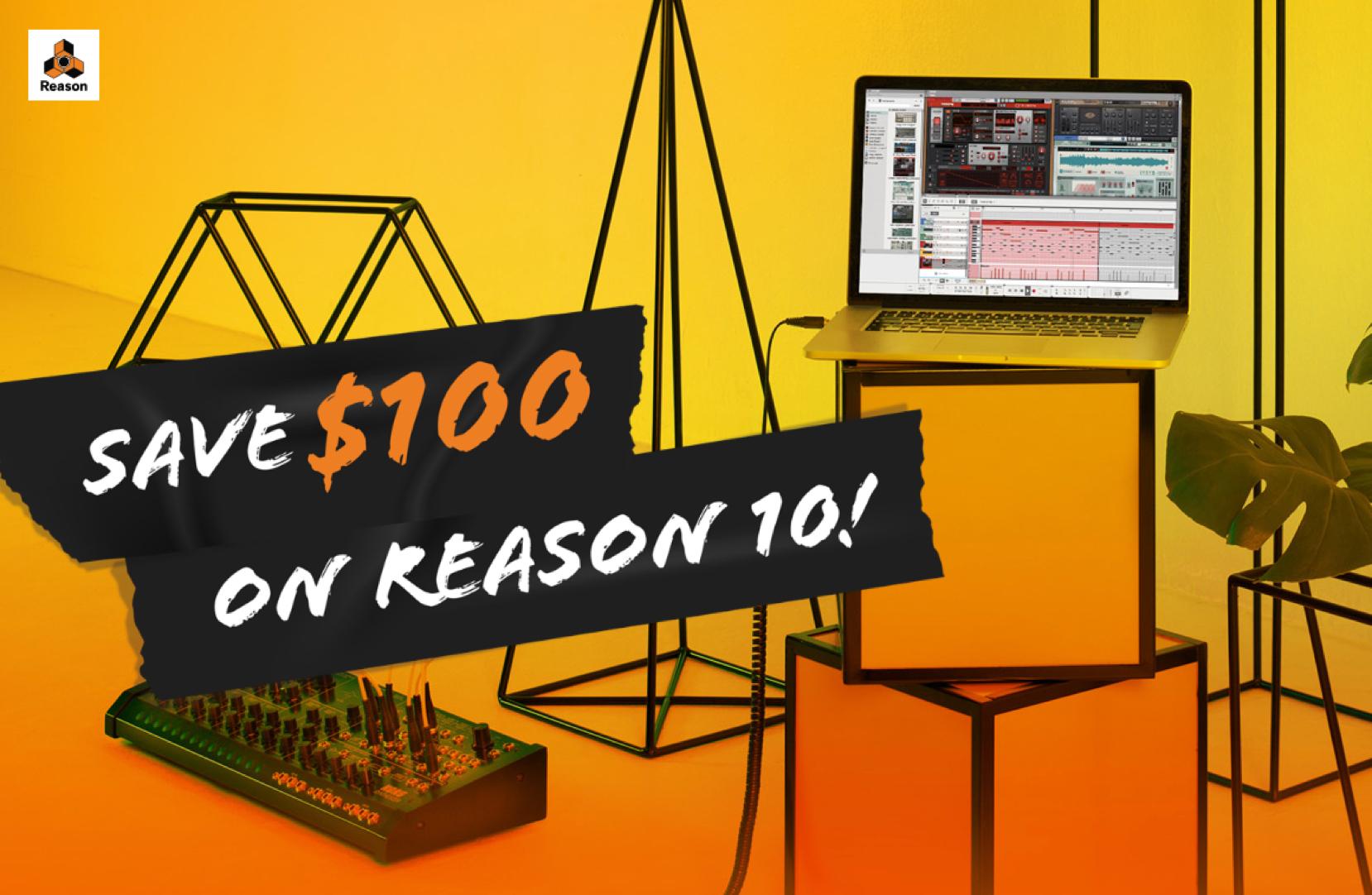 Propellerhead  ホリデー・キャンペーン Reason 10が100ドルOFF