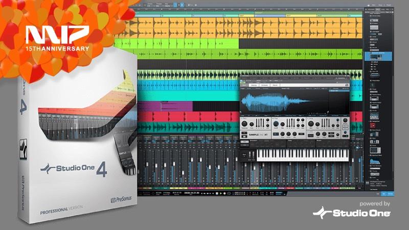 [先着1,000名] Studio One 4 Professional / Artist半額(アップグレードも対象)