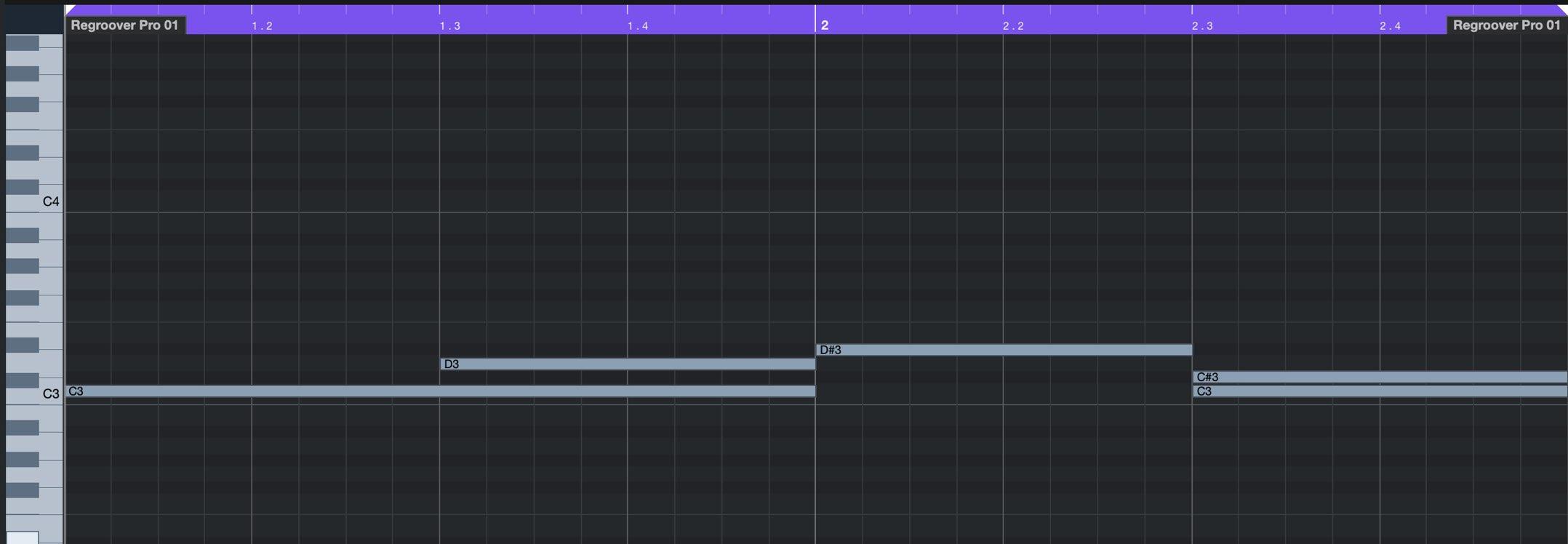 MIDI NOTE