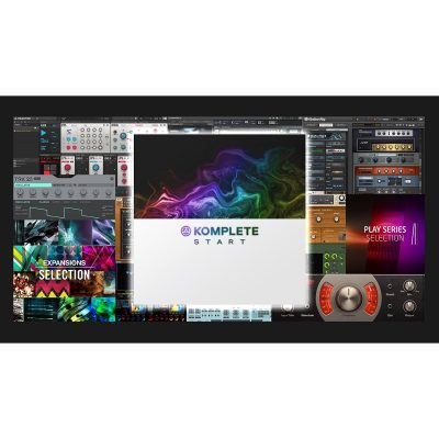 Native Instruments Komplete Start-eye