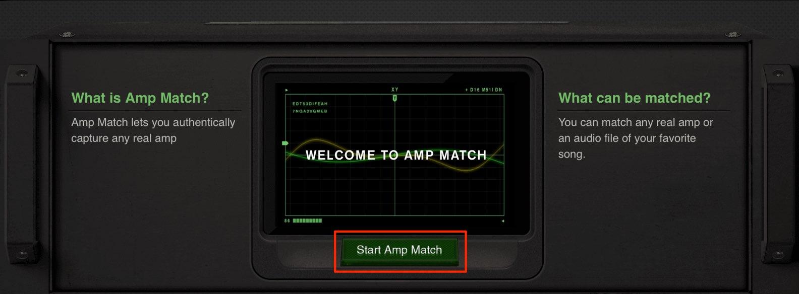 Start Amp Match