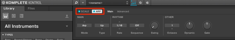 ARP Chord